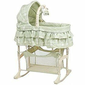 Simplicity 4-in-1 Bassinet & turtle VTech Animal Fun Bounce Time