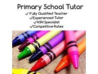 Experienced Primary School Tutor - Limited Spaces