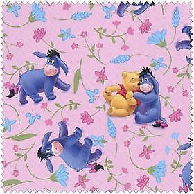 Winnie The Pooh Fabric Ebay