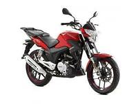 Lexmoto ZSX 125cc, 2015, New & Unused, Red or Black, Finance Available
