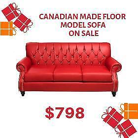 Great Deal on Floor Model Canadian Made Sofa (CA2008)