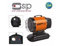 SIP 09579 Fireray 70XRDT InfraRED Diesel Paraffin Space Heater 70000BTU