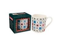 Scrabble alphabet mug. Unopened, perfect condition, still in box.