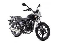Lexmoto ZSB 125cc, New & Unused, Blue or Grey, 2YR WARRANTY