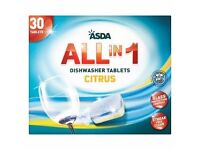 All in 1 Citrus Dishwasher Tablets (28)