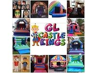 Bouncy Castle ,Disco Dome, Slides, Soft Play, Candy Floss, Popcorn Machine, Face painting Hire £50.