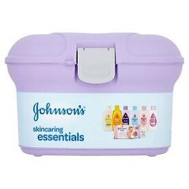 Johnsons Baby Skincare Box