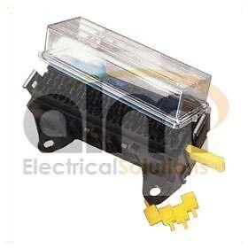 16 way automotive fuse box with splashproof lid. Black Bedroom Furniture Sets. Home Design Ideas