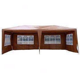 10' x 20' Brown party tent / tent for sale / wedding tent w/ 4 walls / Party Tent Event Tent