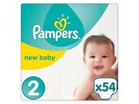Pampers size 2 worth 20 GBP for 10 GBP
