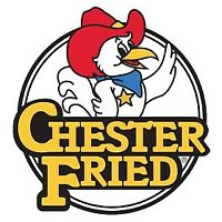 French Fryer/ Chester Chicken is hiring.