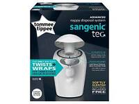 Tommee Tippe Advanced nappy disposal system Sangenic Tec Bin