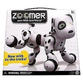 Zoomer Interactive Puppy Robot Dog Dalmation 2.0 w/ 2X the trick