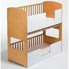 Twin Cot And Bunk Bed Suitable From Birth To 6yrs In Harlow