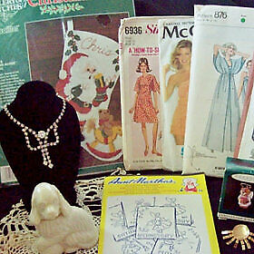 Sewing Patterns Crafts Collectibles