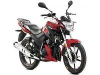 Lexmoto Aspire 125cc, New & Unused, Red or White or Grey. 2YR WARRANTY! FINANCE!