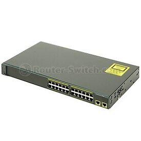 Cisco Network Switch WS-C2960-24TT-L
