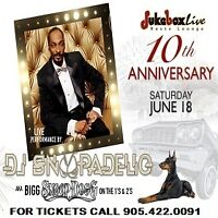 DJ SNOOPADELIC Exclusive - Jukebox Live's 10th Anniversary Party