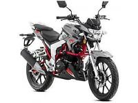 Lexmoto Venom SE 125cc, 2015, New & Unused, Grey/Red. 2YR WARRANTY! FINANCE!