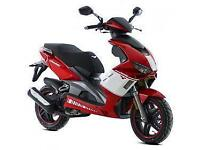 Lexmoto Diablo 125cc, 2015, New & Unused, Red/White or Black/White