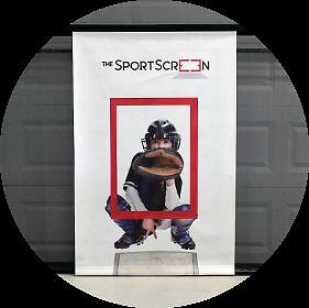 The Sport Screen - shooting target - SAVE YOUR GARAGE DOOR! Strathcona County Edmonton Area image 3