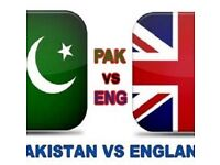 3 x Pak vs Eng T20 on 7 sep 2016 at old trafford match tickets
