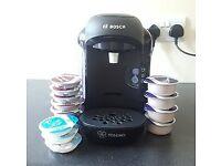 Bosch Tassimo Coffee Machine - coffee pods included!