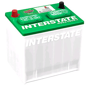 New Mt-35 Interstate Car Battery group 35
