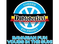 Dubtoberfest weekend camping and Entry Tickets for 4 adults, 4 child/teens and 2 camping