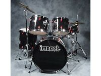 Drum kit,made by impact,£195.00