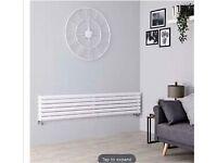 Designer oval tube radiator