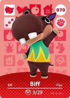 Amiibo  Cartes Animal Crossing