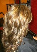 turn in clip hair extensions into tape extension $40