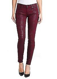 Size 24 Skinny Python Print jeans Seven for all Mankind