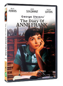 The Diary of Anne Frank (1959) New Sealed DVD Bing Crosby