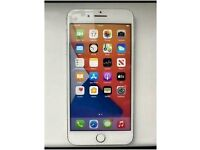 iPhone 8 Plus - white - unlocked - 64gb - great working order -