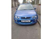 MG ZR 1.4 blue 5 door