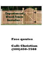 Experienced Wood Fence Installer