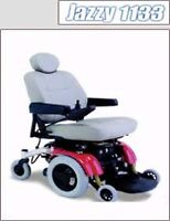 """Electric Wheelchair """"Jazzy 1133"""". Used only 6 weeks. Like new!"""