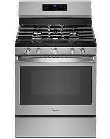 Whirlpool 30 Self-clean Convection Free-standing Gas Range  - Stainless Steel (WL2610)