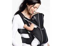 Baby Bjorn Miracle Baby Carrier - black mesh, RRP £85