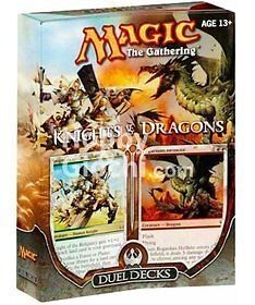 MTG Magic Knights vs Dragons cards DUEL DECK SEALED! English