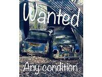 Classic mini Morris Austin rover spares or repair 998 1275