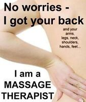 12 year experienced registered massage therapist