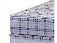 Brand new 4ft6 orthopedic sprung mattress