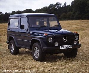 WANTED: Mercedes G Wagon diesel
