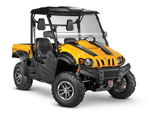 CUB CADET CHALLENGER UTV SIDE BY SIDE,start @ $212 a mon