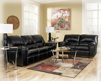 NEW LEATHER AND FABRIC FURNITURE...WHOLESALE PRICED!