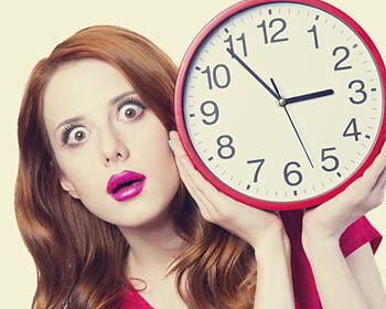 Zeit läuft! Ein Lied darf nicht länger als 3 Minuten lang sein. (Copyright: Thinkstock/ über The Digitale)