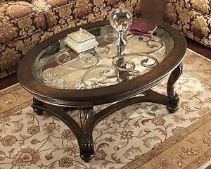 NEW YEAR SALE) ASHLEY & IMPORT COFFEE TABLE SALE FROM $ 39